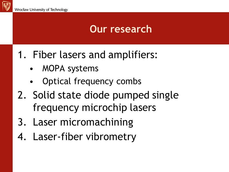 Fiber lasers and amplifiers: