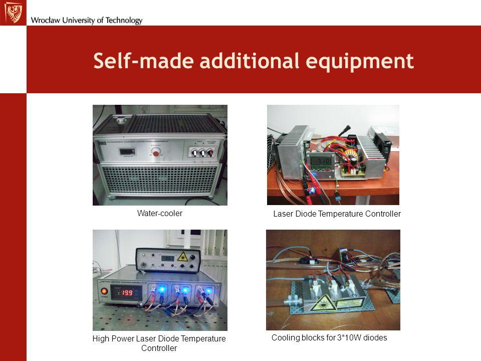 Self-made additional equipment