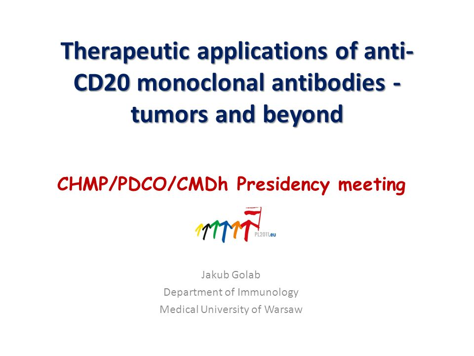 Jakub Golab Department of Immunology Medical University of Warsaw