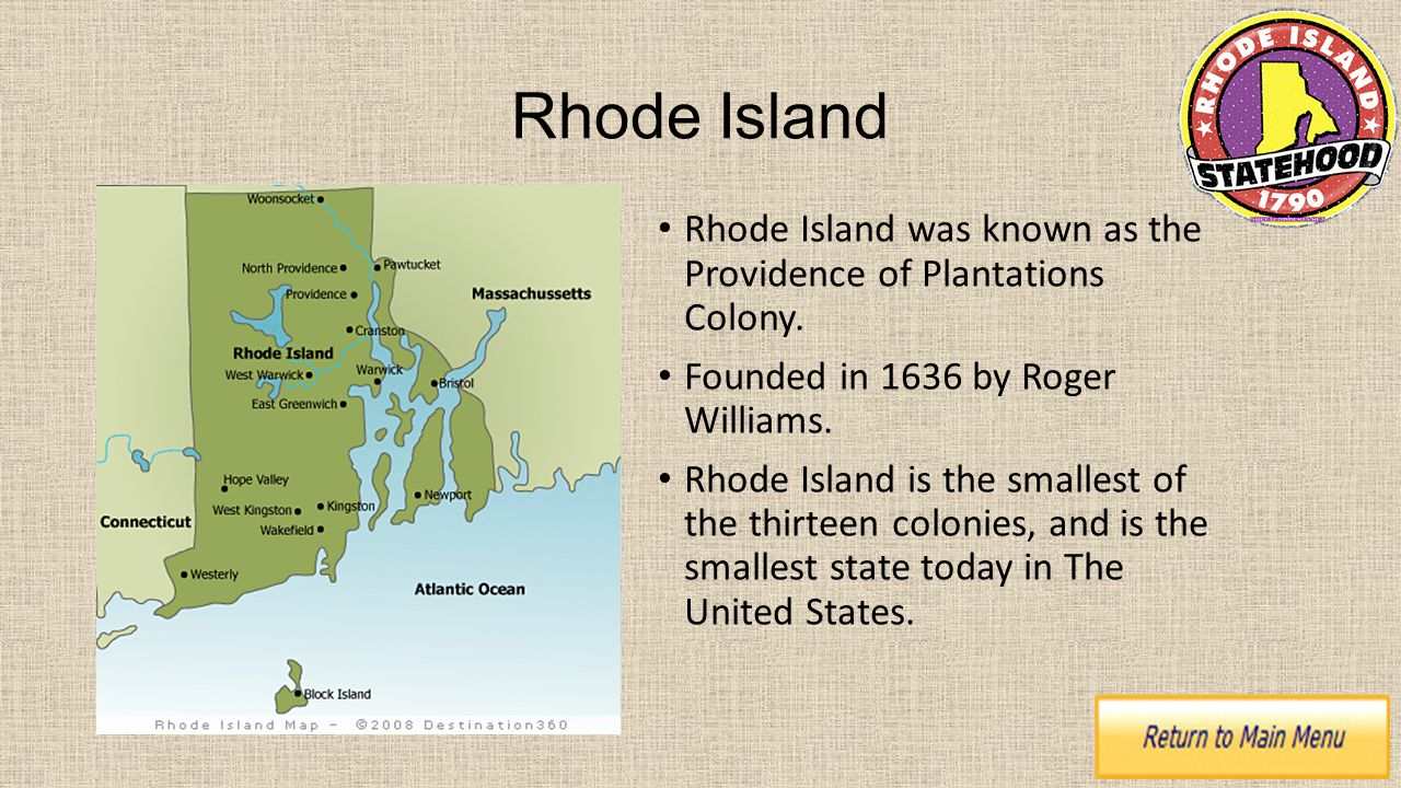 Rhode Island S Largest Colonial City