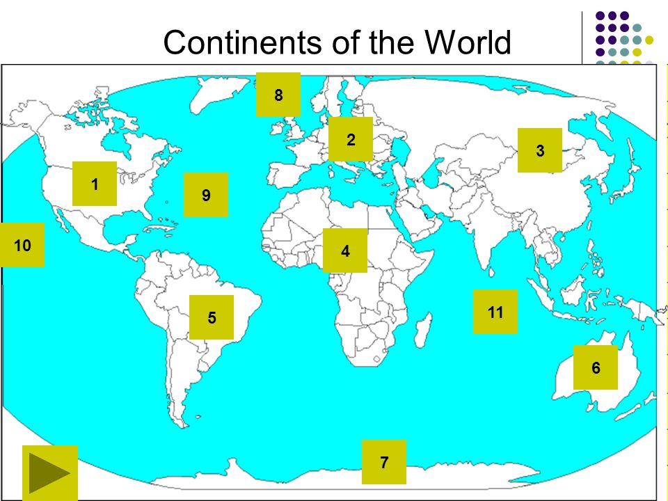 Continents of the World ppt download