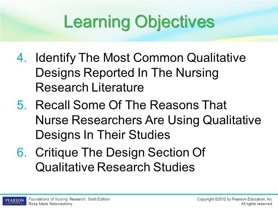 nursing 6052 qualitative research