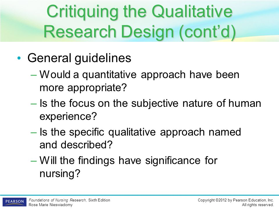 critiquing qualitative research essays Essay writing guide a critique of qualitative study regarding diabetes treatment methodology the article chosen is a qualitative research piece.