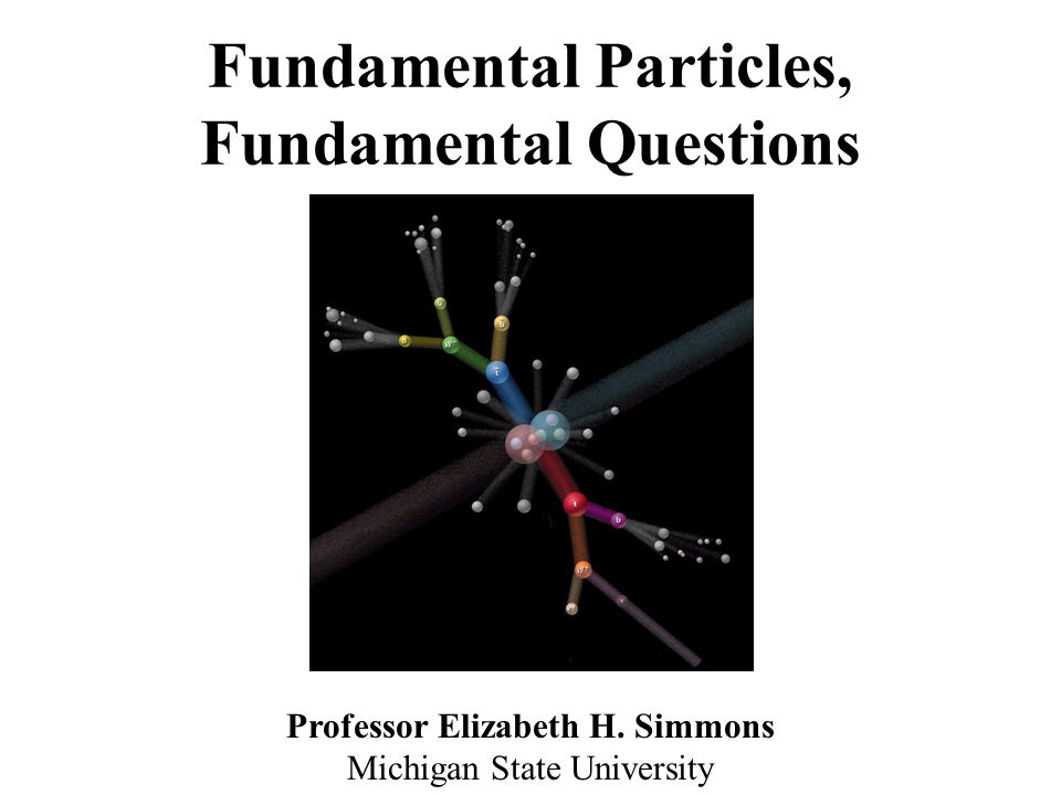 Fundamental Particles, Fundamental Questions - ppt video online download