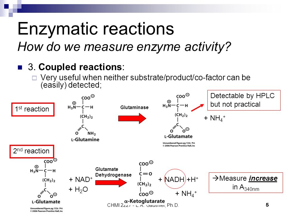 enzymes and enzymatic reactions Regulation of enzymes the reaction rate of an enzyme-catalyzed reaction varies with the ph, temperature, and substrate concentration under physiologic conditions the rates of many reactions are controlled by substrate concentrations.