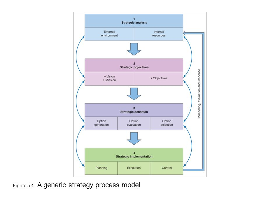 strategic planning process and alternative models