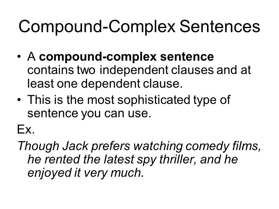 Compound And Complex Sentences Gidiyedformapolitica