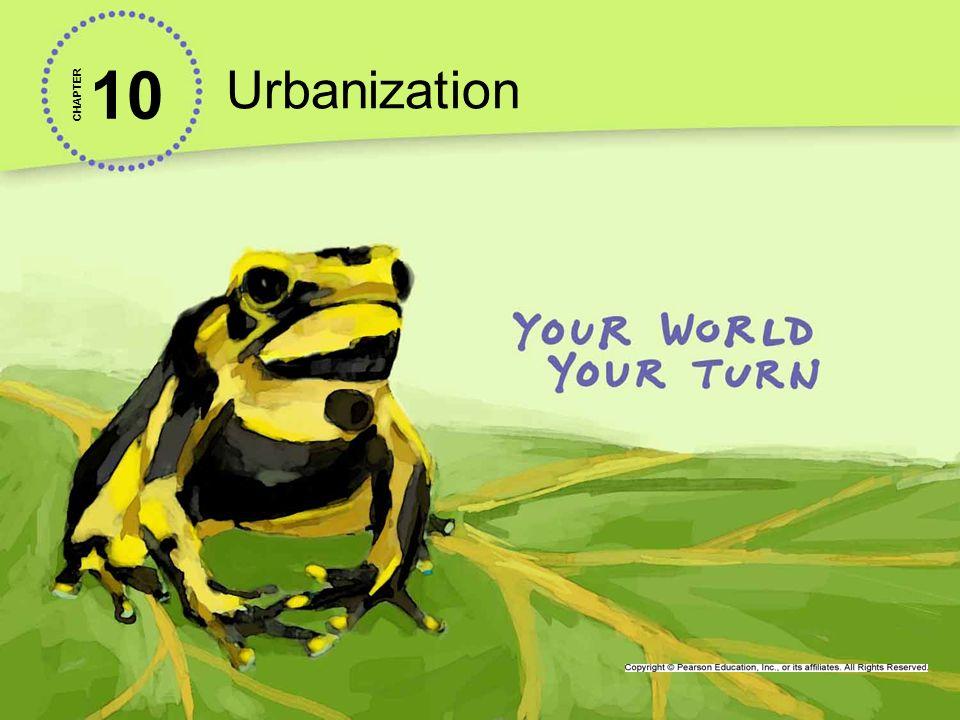 Urbanization 10. CHAPTER.