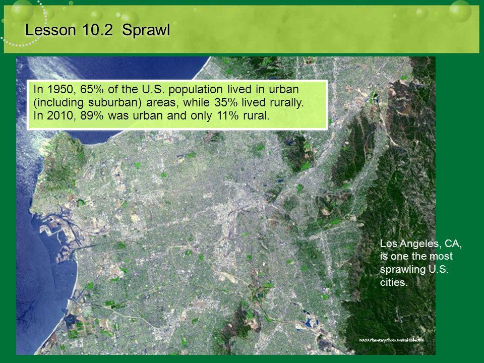 Lesson 10.2 Sprawl