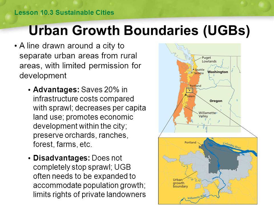 Urban Growth Boundaries (UGBs)