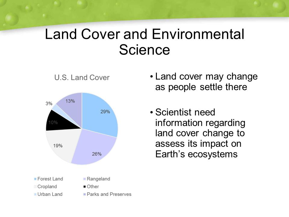 Land Cover and Environmental Science