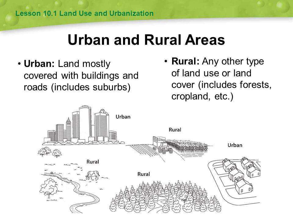 Lesson 10.1 Land Use and Urbanization