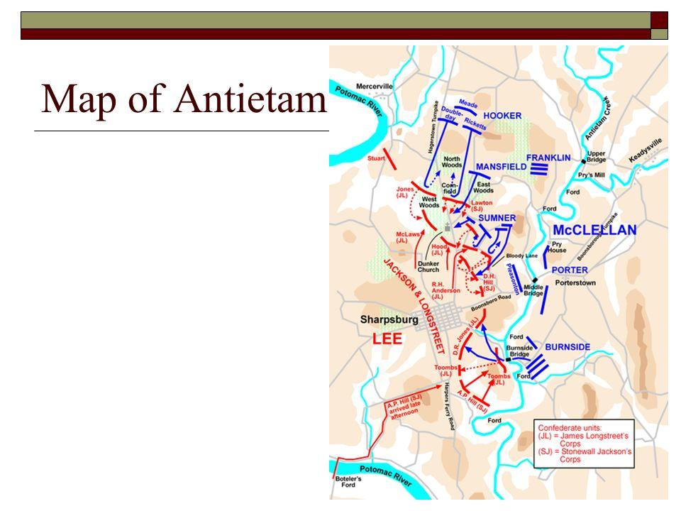 20 Map Of Antietam