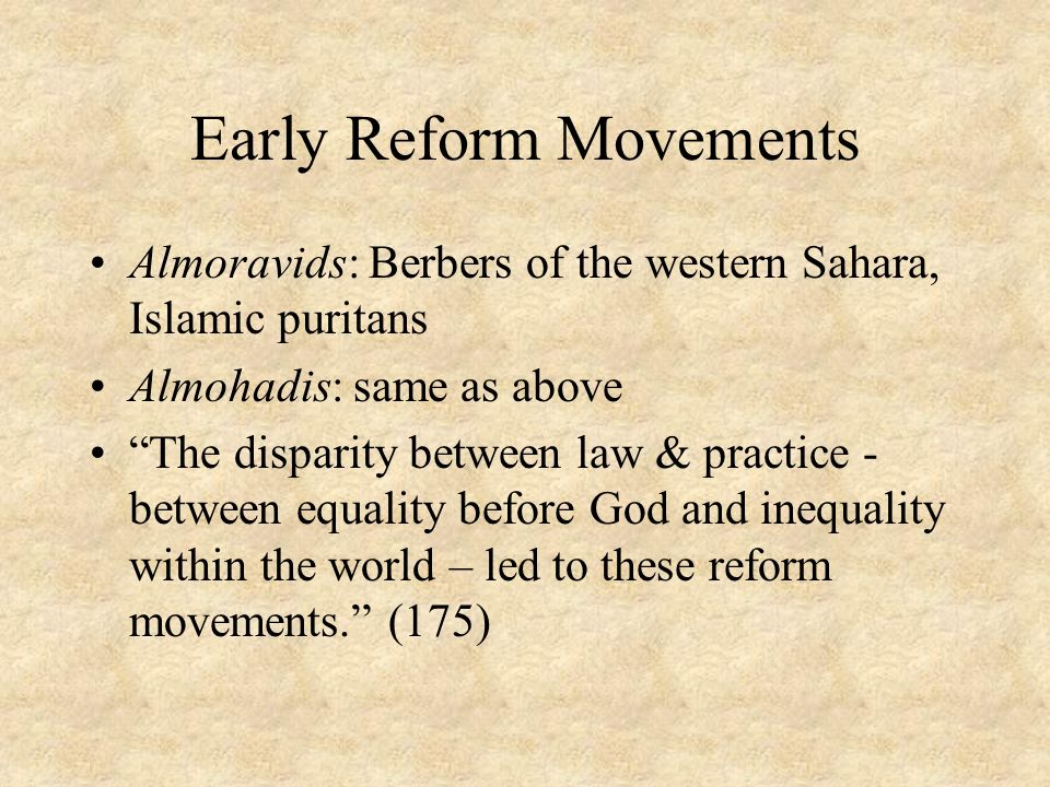 the reform movements of the first This work is part of the studies of education reform program, supported by the   it is too early in this reform movement to assess the impact of any particular.