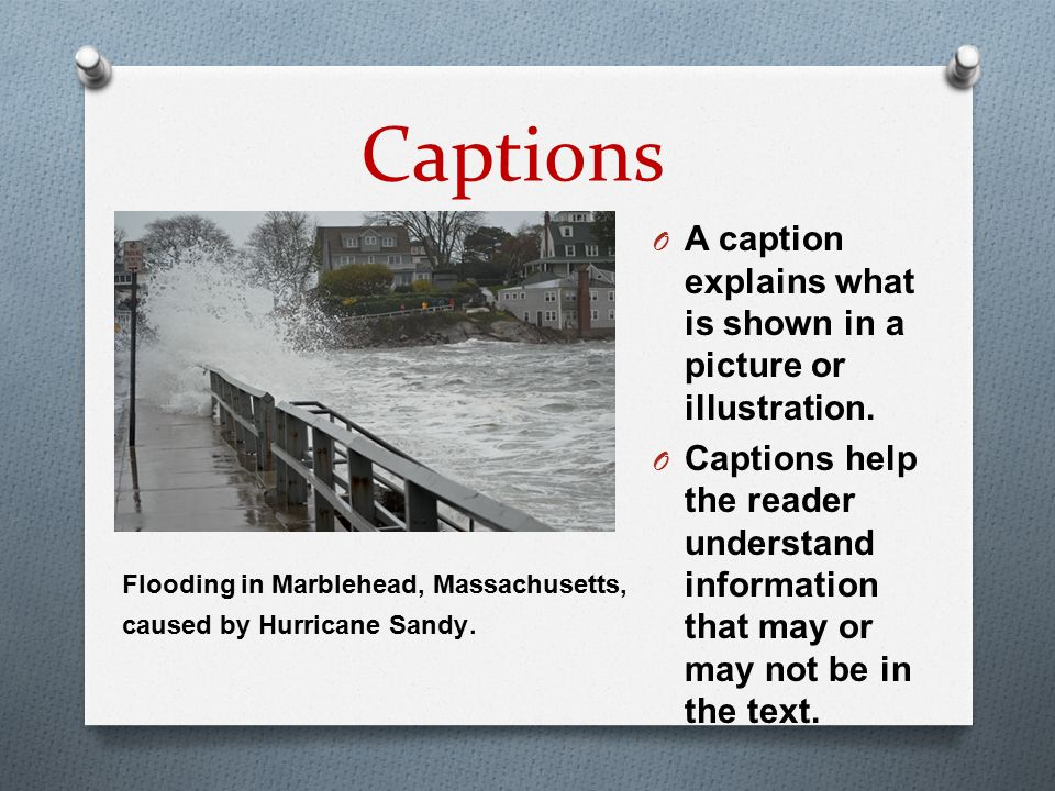 What do you notice about this picture? Text Features - ppt ...
