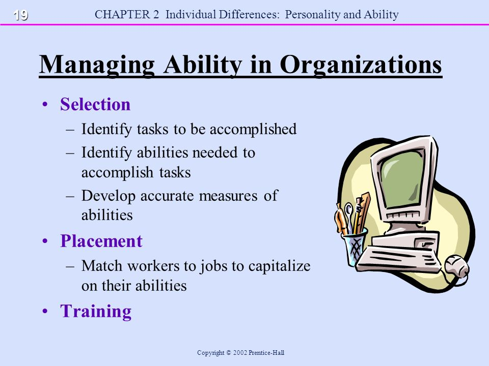 """managing organization individual p A similar issue applies to change management regarding both the  mclean ( 2006) said, """"it is a mistake to equate od with change management"""" (p  within  the organization, recognize the critical nature of the individual."""