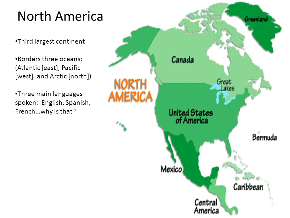 the continent of north america The continental united states is the area of the united states of america that is located in the continent of north america it includes 49 of the 50 states (48 of.
