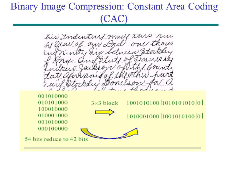Binary data compression techniques
