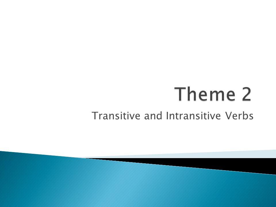 transitive and intransitive verbs worksheet pdf