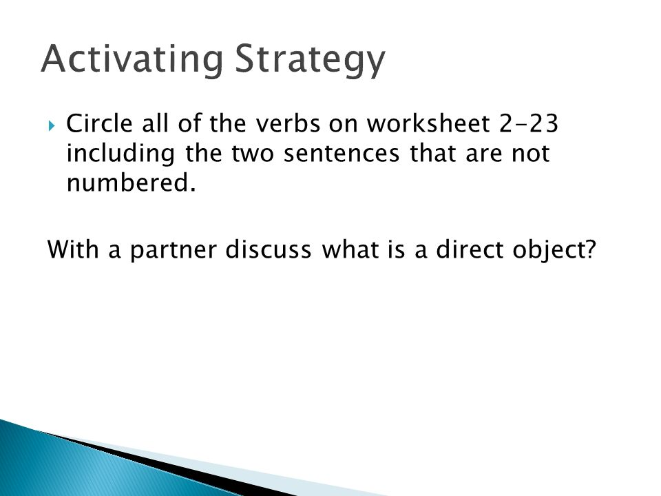 Transitive and Intransitive Verbs ppt download – Transitive and Intransitive Verbs Worksheet