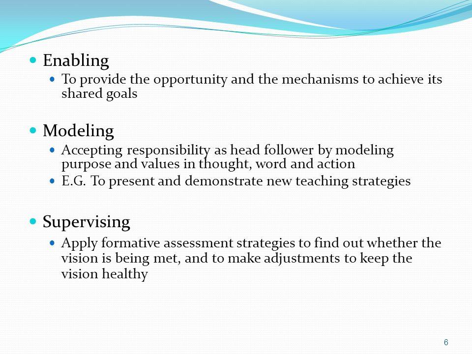 Enabling Modeling Supervising
