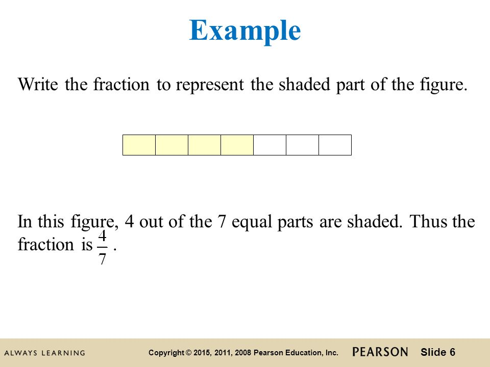 introduction to fractions and mixed numbers ppt