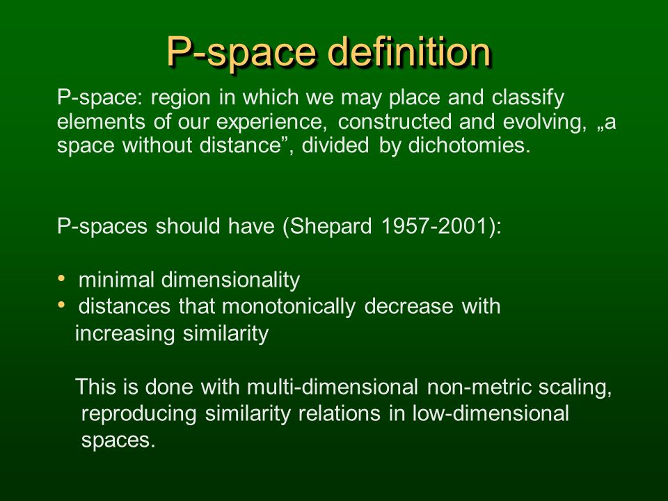 P-space definition