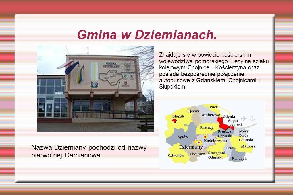 Gmina w Dziemianach.