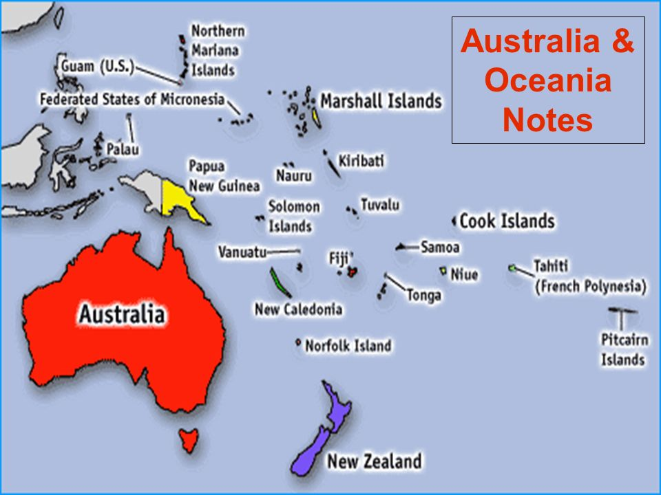 Australia Oceania Notes ppt video online download