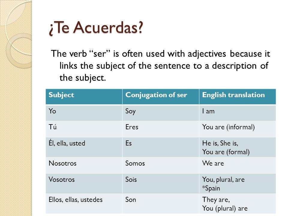 Nouns, Adjectives, & Gustar - ppt video online download