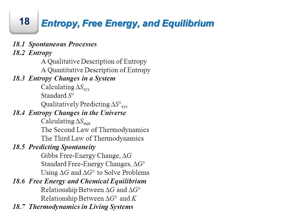 relationship between free energy and chemical equilibrium expression