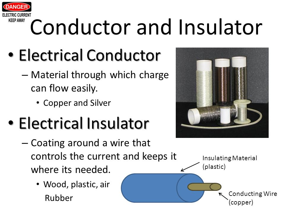 Electrical Conductors And Insulators : Electricity the mouse and cheese analogy ppt video