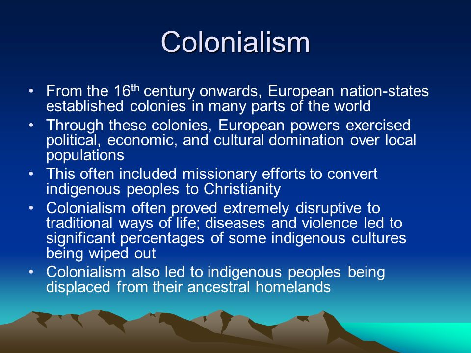 colonialism essay