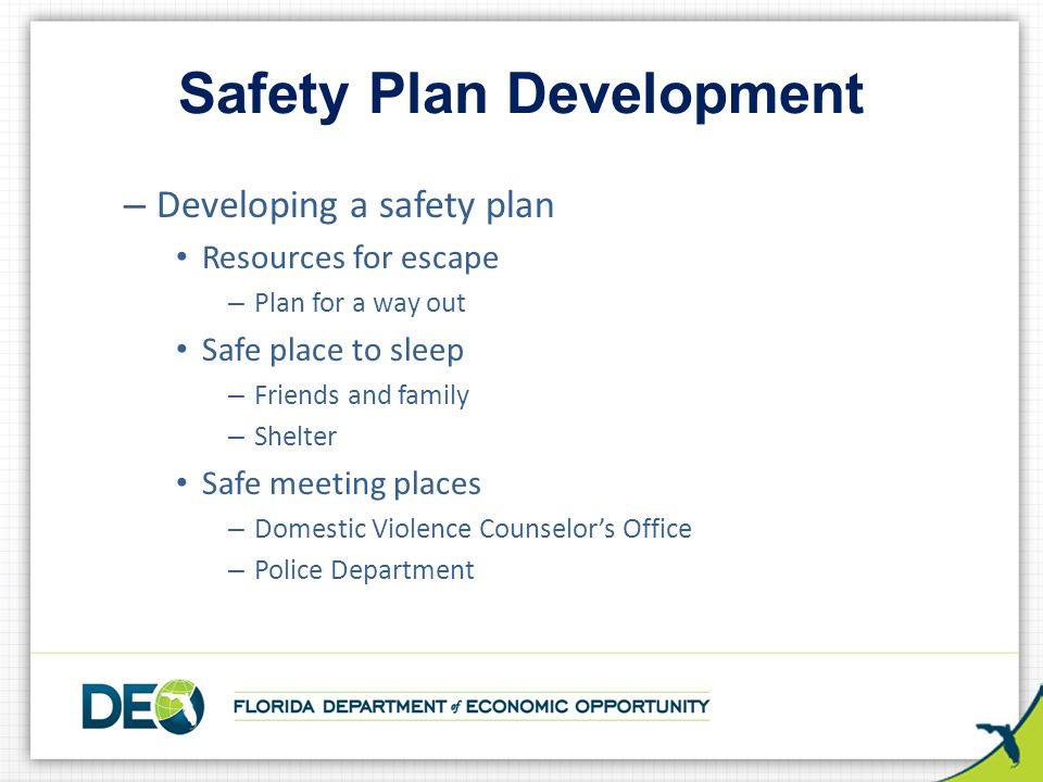 Safety Plans Safety And Health Programs  Effective Safety Plans
