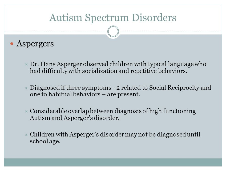 How asperger syndrom diagnostic criteria adults