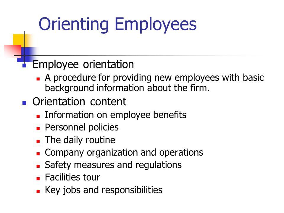 employee orientation powerpoint