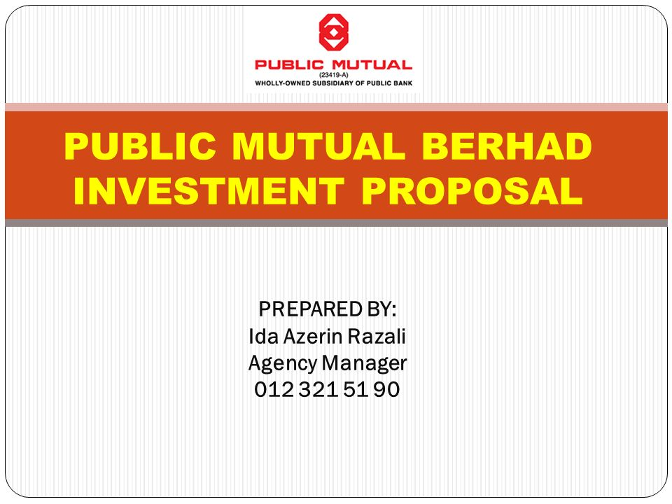 Public Mutual Berhad… Is Malaysia'S Largest Private Unit Trust