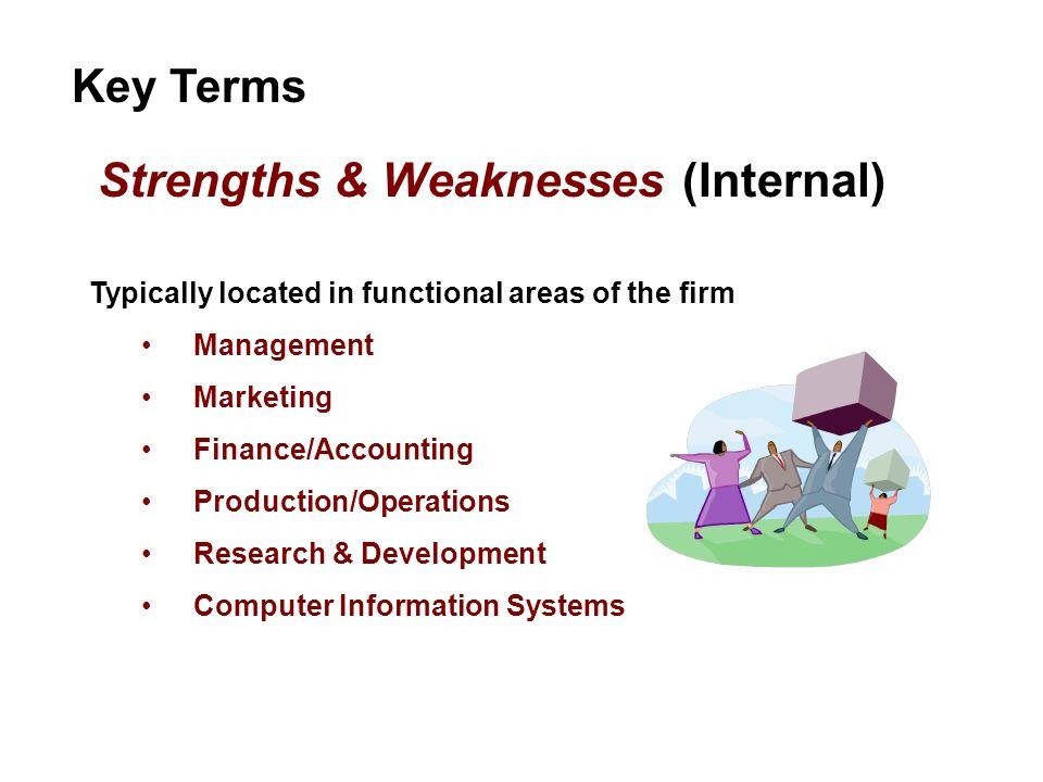 Strengths & Weaknesses (Internal)