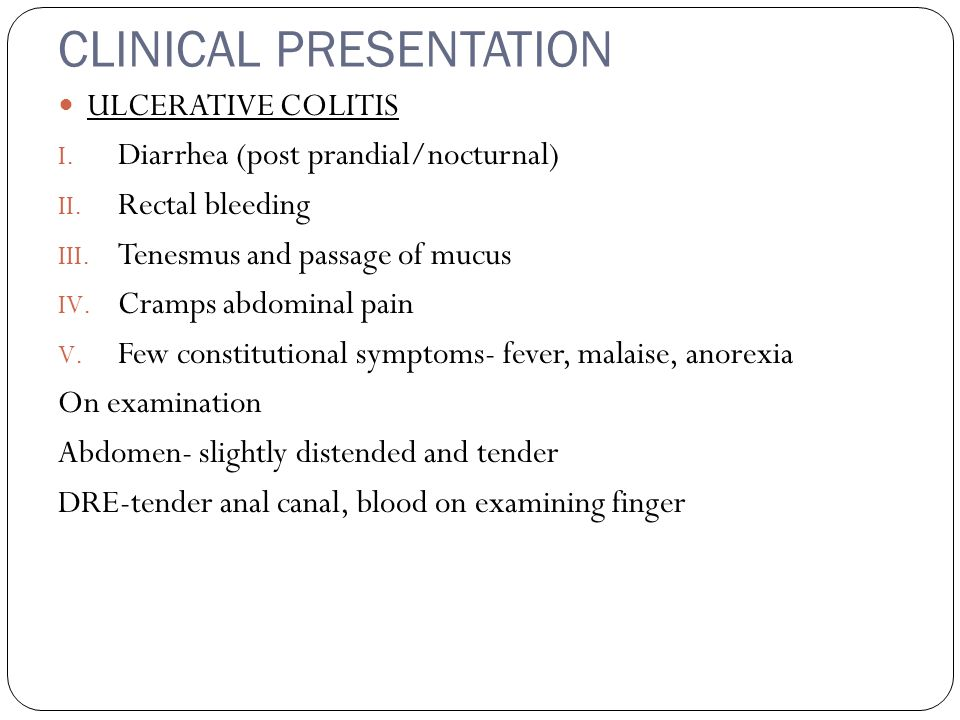 Inflammatory Bowel Disease Ppt Download