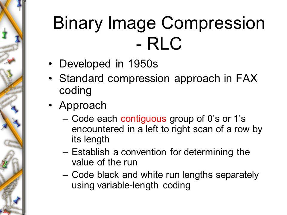 run length compression binary options