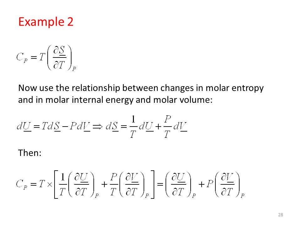 relationship of entropy and enthalpy