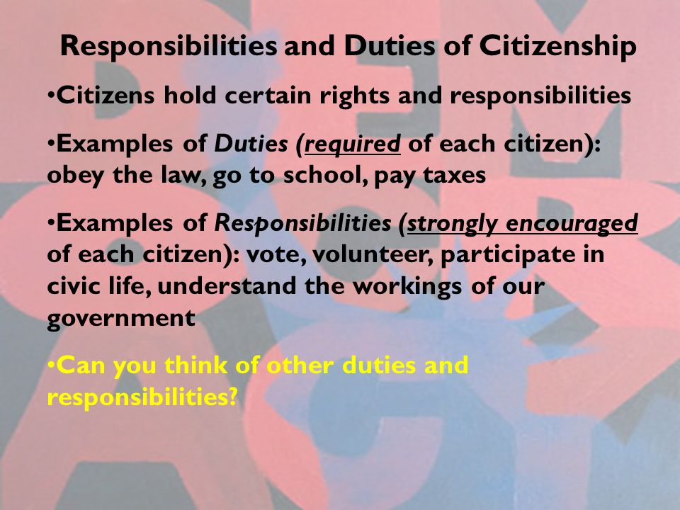 role of a citizen essay Citizen is one of the most commonly used word in a democracy it is used at all levels of politics a citizen is a person who enjoys rights and performs her/his duties of a good citizen a citizen is a person who lives in a particular country for a long time he may be born in the country or not but, by.