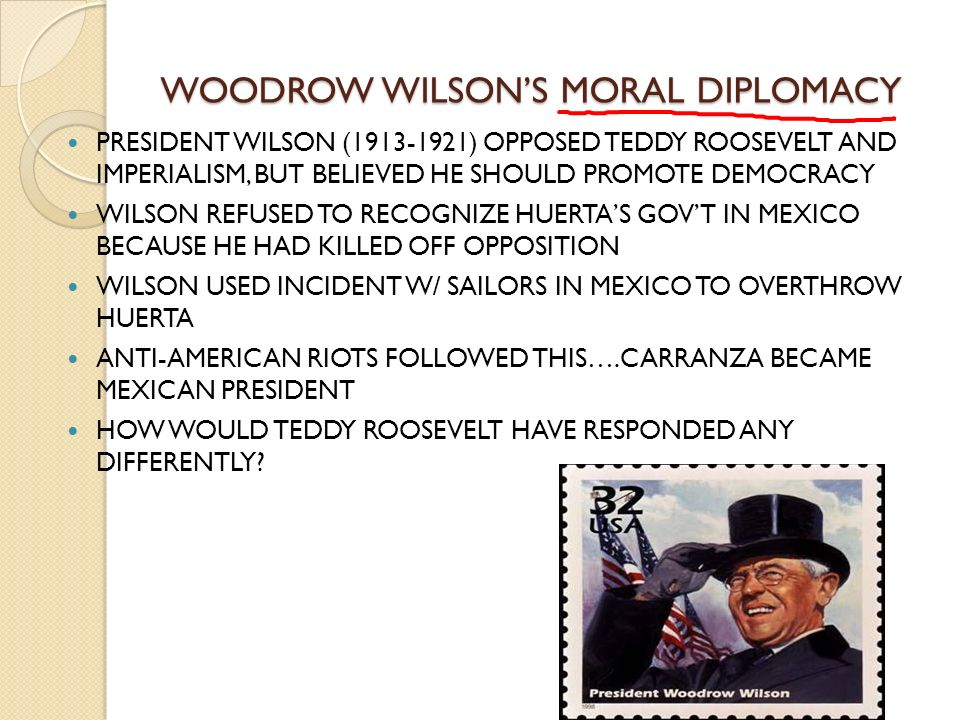 a comparison of the similarities and differences between theodore roosevelt and woodrow wilson and t The similarities were that both roosevelt and wilson were both trying to help out the small businesses 17 people found this useful compare and contrast the new deal and the great society.