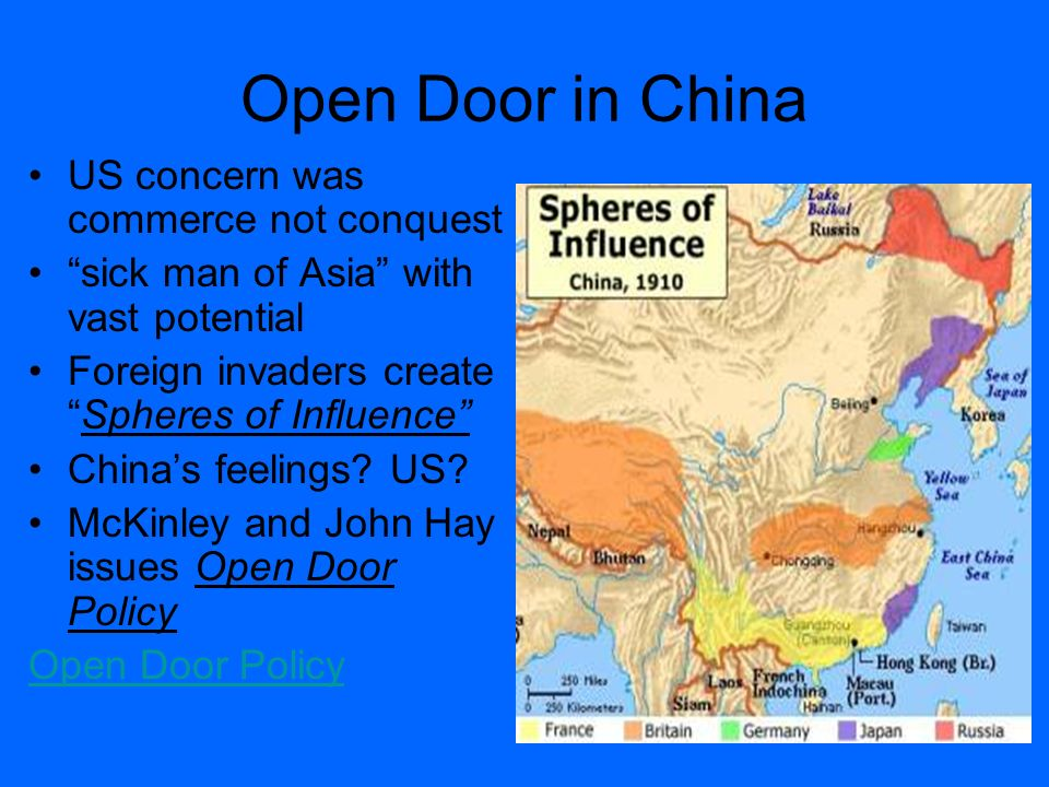 america s open door policy with china Of what would be known as the open door policy  was willing to be america's secret channel to china  us has an open-trade policy with china,.