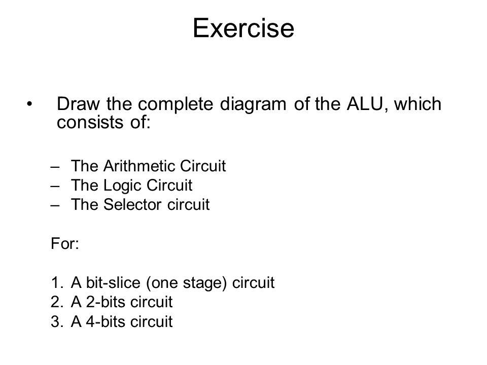 Bit Alu Logic Diagram on 1 bit alu circuit diagram, 4-bit adder diagram, arm architecture block diagram, alu block diagram,