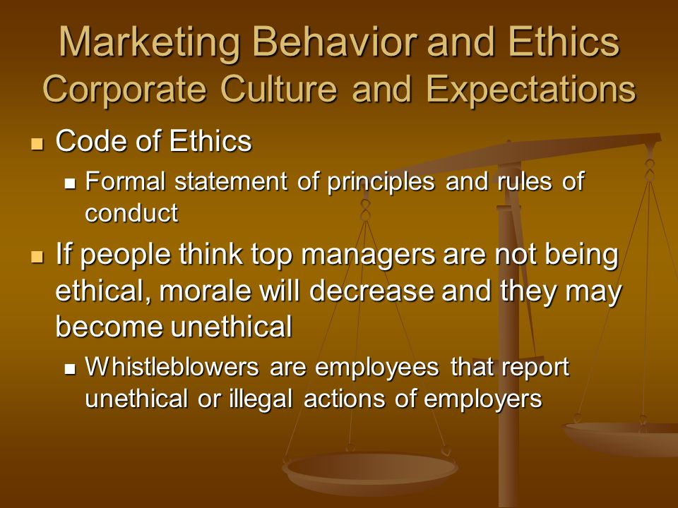 """ceo ethical behavior In a statement, he proclaimed that """"wrongful sales practice behavior goes entirely  against our values, ethics and culture,"""" while shifting the."""