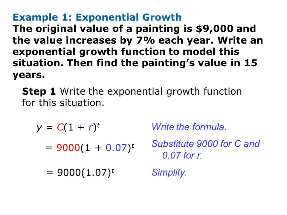 exponential growth and decay formulas pdf