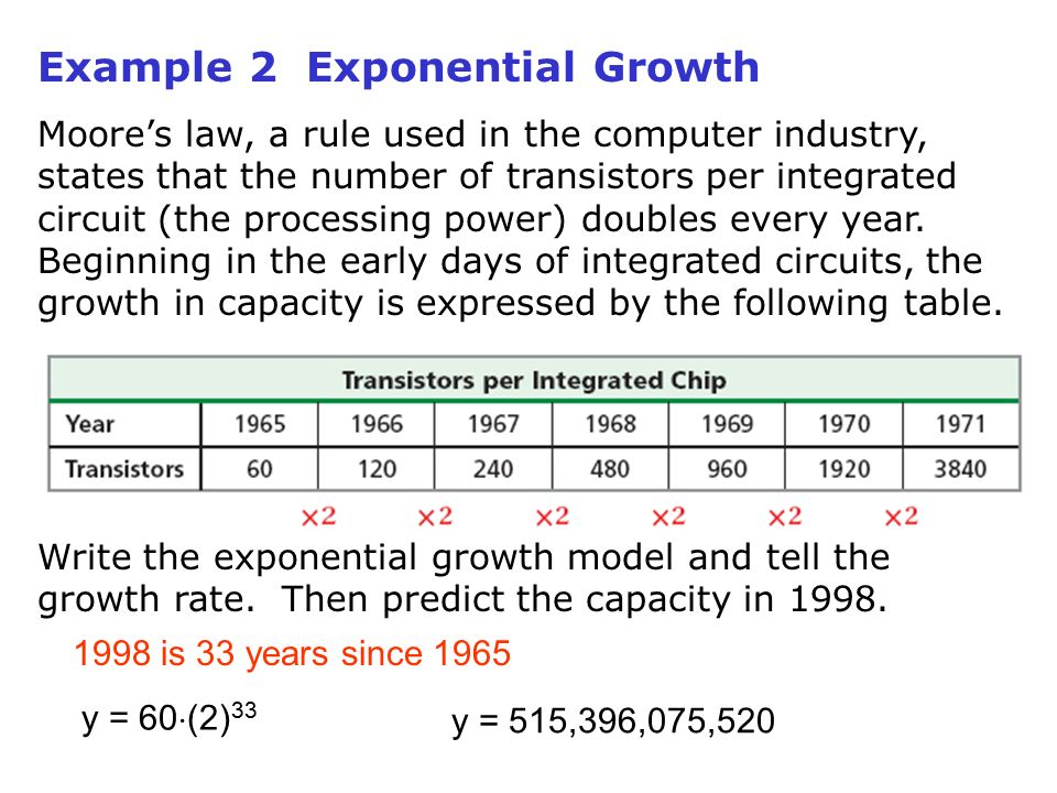 how to find growth and decay rate