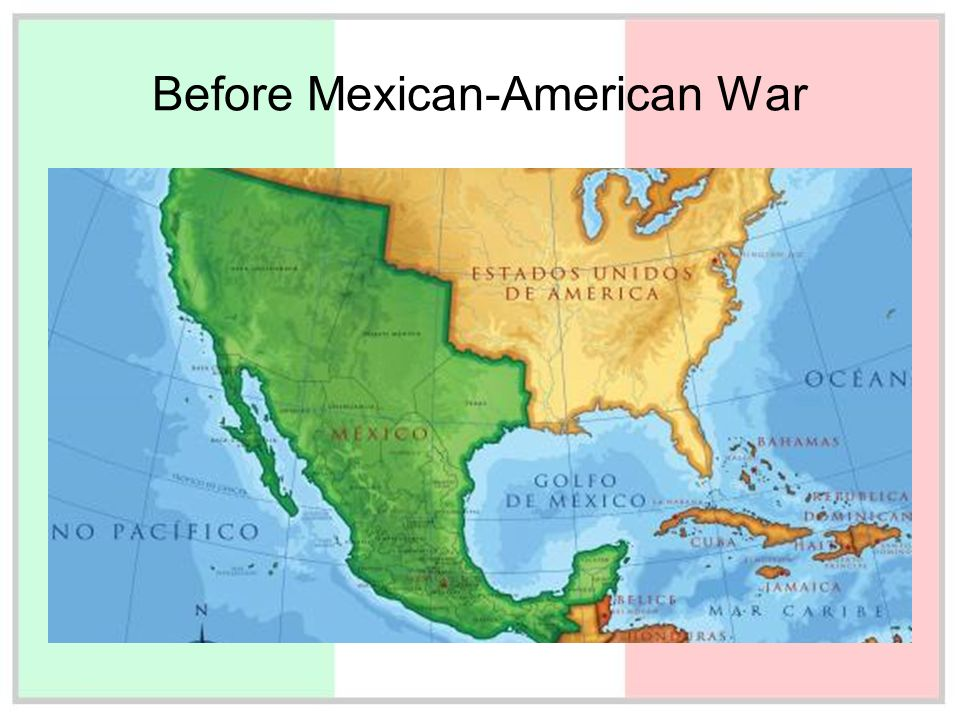 MexicanAmerican War The Changing MexicoUS Border Worlds Revealed - Map of the us before the mexican american war