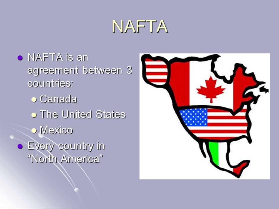 An Analysis Of The North American Free Trade Agreement Between The